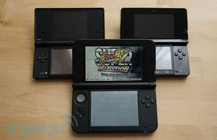 3DS still outpacing predecessor in comparative sales, says Nintendo