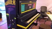 Raspberry Piループサンプラーつきピアノ Quaver。4トラック対応、曲はクラウドで公開