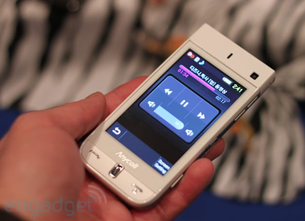 Samsung's pico projecting W9600 gets a brief hands-on