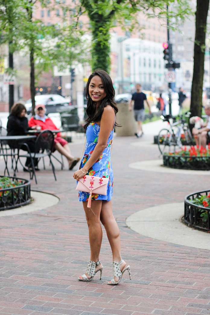 Street style tip of the day: Bright romper