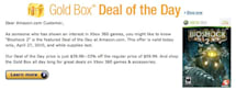 PSA: Amazon's Gold Box is all Xbox 360 today