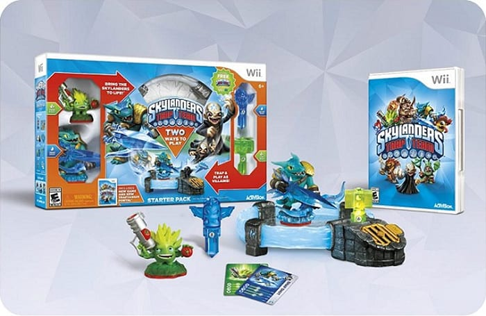 Wii version of Skylanders Trap Team includes Wii U digital copy