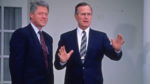 Bush Left a Note for Bill Clinton