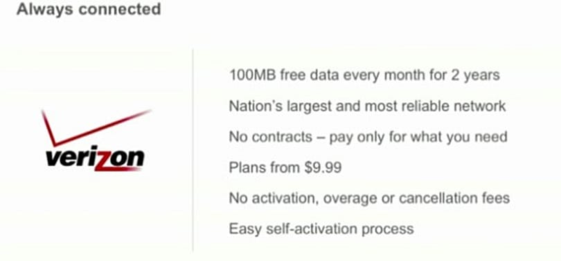 Google partners with Verizon for free 3G data allowance with every Chrome OS netbook