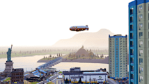 Airships arrive in SimCity