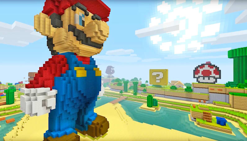 'Super Mario' is coming to 'Minecraft: Wii U Edition'