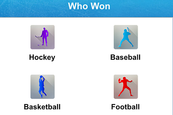Settle those sports arguments with Who Won Sports
