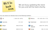 Apple Store down, Waldo still hiding in the country listings (update: new Compare Macs feature)