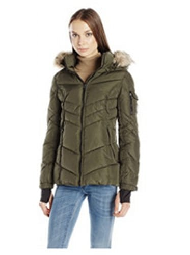 Madden Girl Women's Puffer Jacket