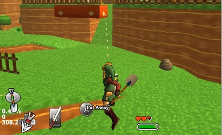 Another 3D Link's Awakening project pops up