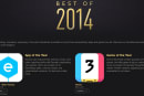 Elevate - Brain Training and Threes! distinguished as Apple's Best apps of 2014 in the iTunes Store