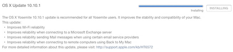 And by the way, OS X Yosemite 10.10.1 is out as well...