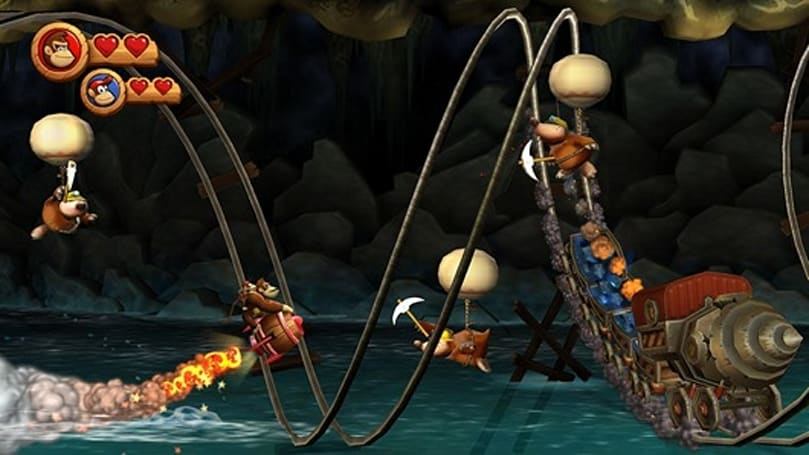 Super Guide returns in Donkey Kong Country Returns