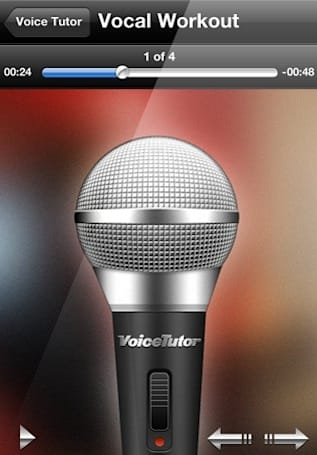 Voice Tutor puts vocal exercises in your pocket