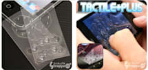 Touchscreen phones get psuedo-buttons with Tactile Plus stickers