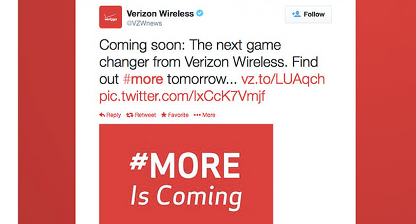 Verizon reportedly launching 'More Everything' plans with higher data caps, lower prices