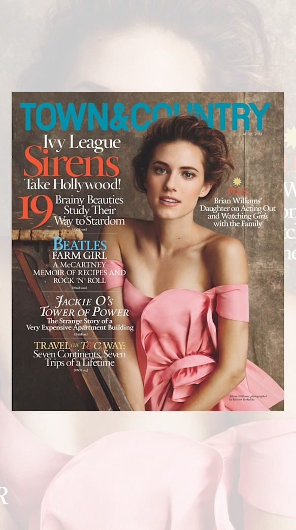 Allison Williams: Ivy League Siren