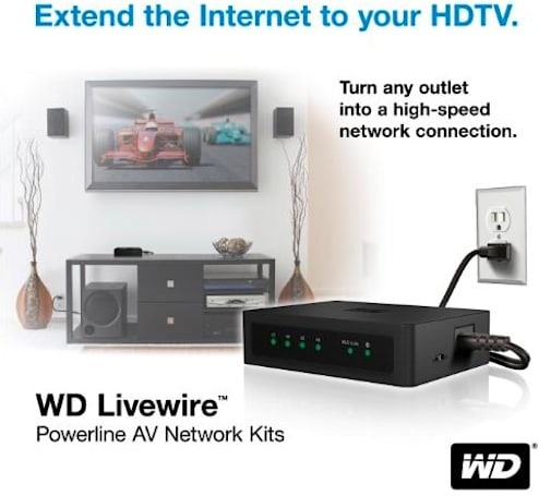 WD intros HomePlug-compatible powerline networking package