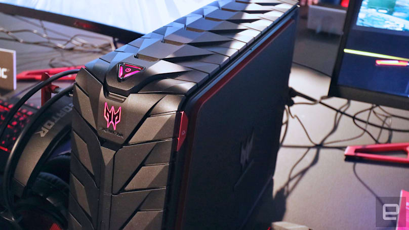 Acer reveals new Predator gaming desktop, notebook and display