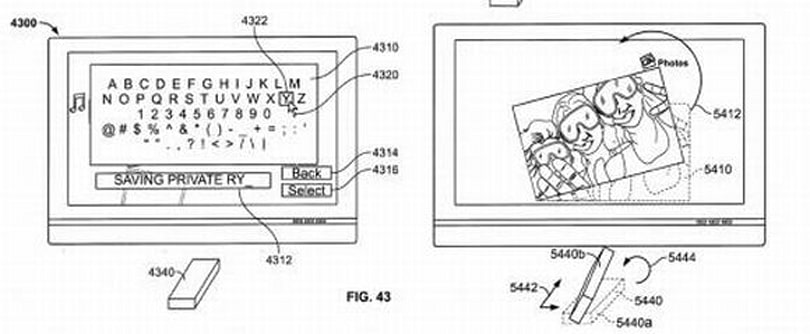 Apple updates patent for magic wand remote