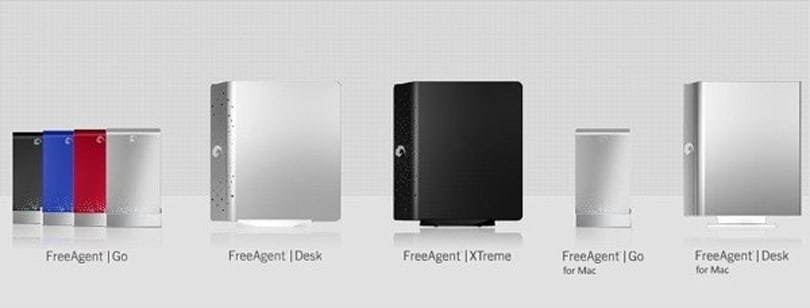 Seagate's FreeAgent drives get official, Go Desk EXtreme