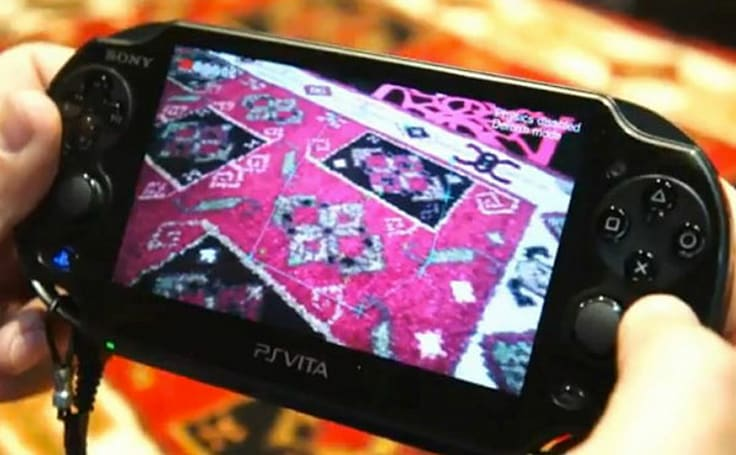 Sony shows off PlayStation Vita's augmented reality chops at GDC, leaves the AR marker cards at home