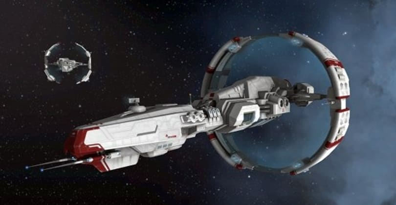 EVE Online unveils the Sisters of EVE ships