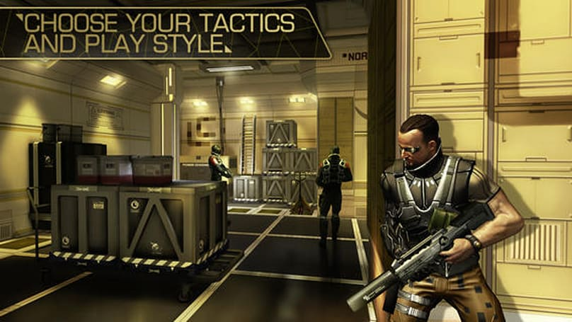 Deus Ex: The Fall update supports iPad 2