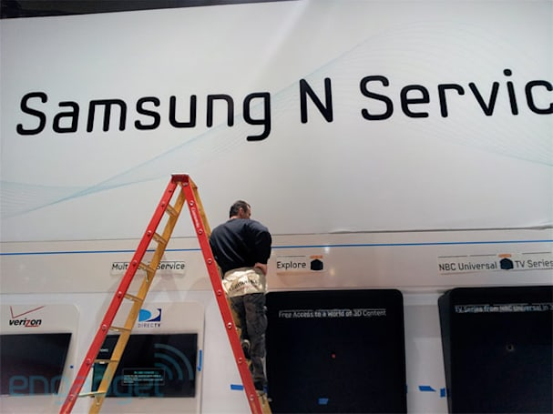 Samsung N Service unveiled at CES: Time Warner Cable, DirecTV, Comcast and Verizon onboard