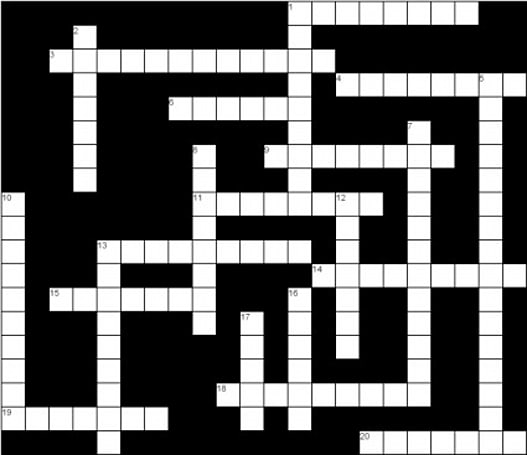WoW Crossword: January 20th, 2009