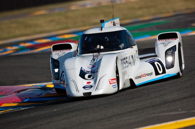 Nissan's ZEOD RC prototype racer completes first all-electric lap at Le Mans