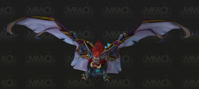 Troll druids get unique bat flight form