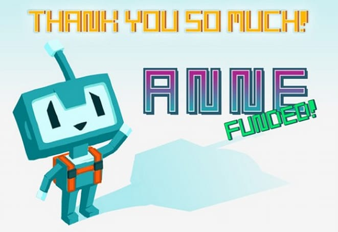 ANNE passes its Kickstarter goal with more than a week to go