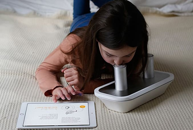 Smell-o-phone creator attaches scents to eBooks and songs