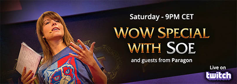 WoW special event this weekend on Twitch.tv