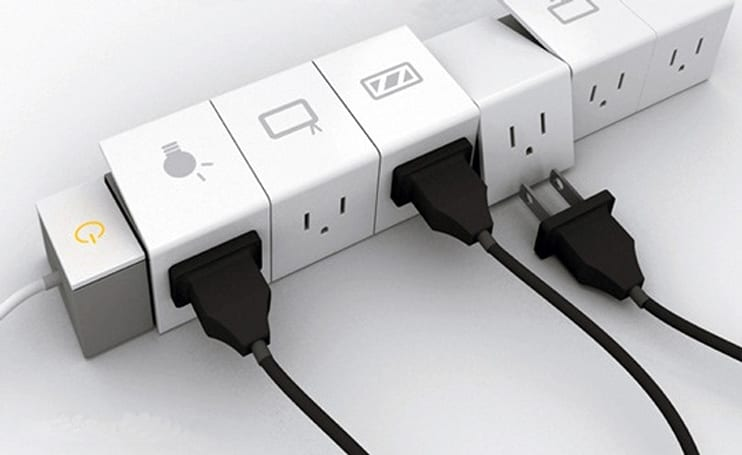 Multi-Tab concept elevates power strips to an art form