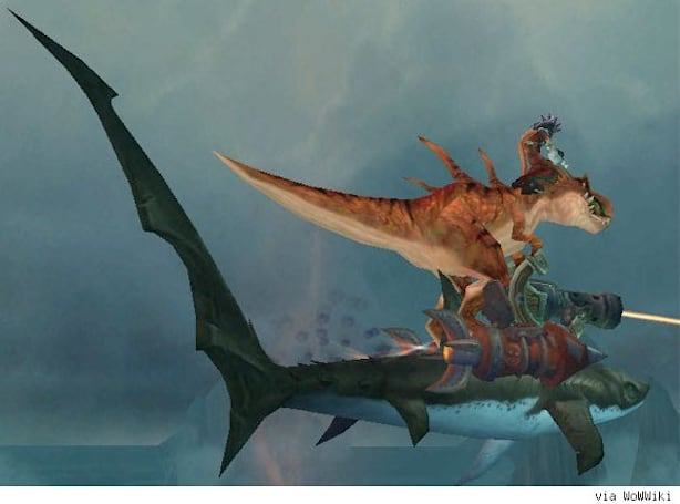 Our favorite WoW dinosaurs outside the Isle of Giants