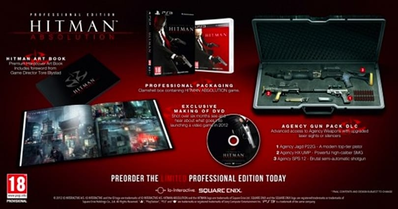 Hitman: Absolution gets a well-dressed 'Professional Edition' [update: EU and NA]