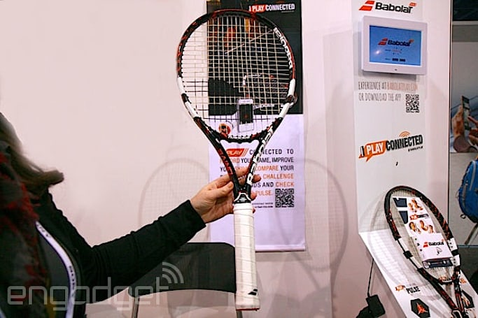 Here's a smart tennis racquet that'll improve your swing