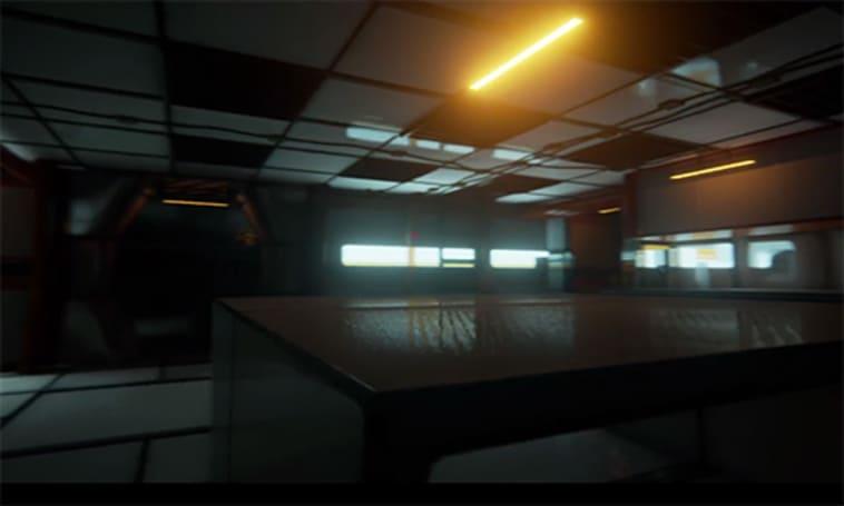 Wander the dark corridors of Caffeine in Unreal Engine 4 trailer