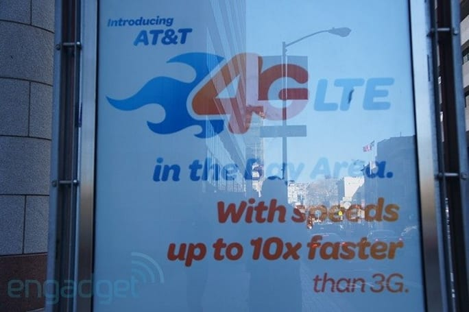 AT&T lights up LTE network in a few more markets, expands coverage in others