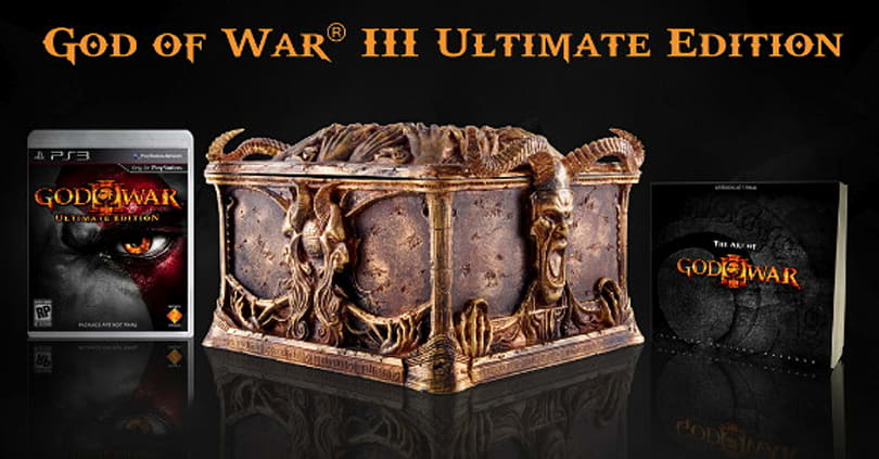 God of War 3 fan video contest offers signed 'Ultimate' editions