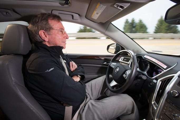 GM: A Cadillac that can (almost) drive itself is coming in 2016