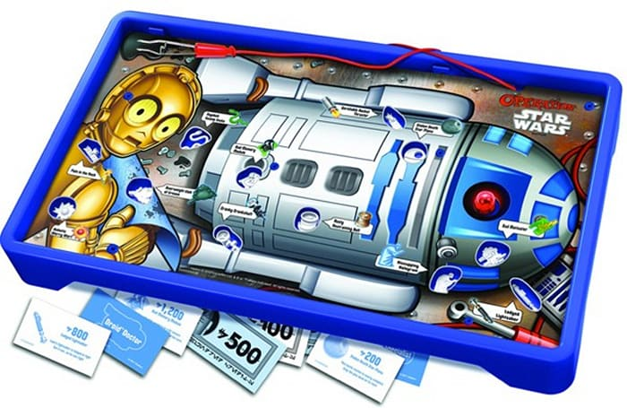 Star Wars Operation lets you get to the bottom of the R2-D2 booster rocket debate
