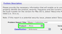 Submit Your iPhone Bugs to Apple