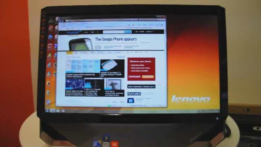Lenovo IdeaCentre B500 Hands-on