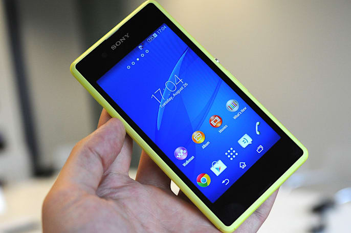Sony's Xperia E3 is its next colorful, budget device