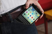 I typed my entire BlackBerry Passport review on the phone's tiny keyboard