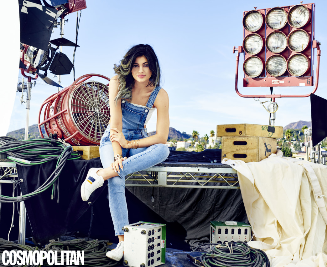 Kylie Jenner for 'Cosmo': The difficulty of growing up in the public eye
