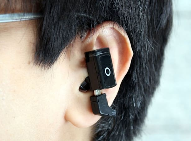 Thanko Microsports MP3 player is small, really small